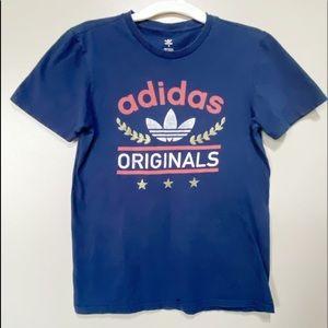 Adidas Originals Navy Athletic T-Shirt